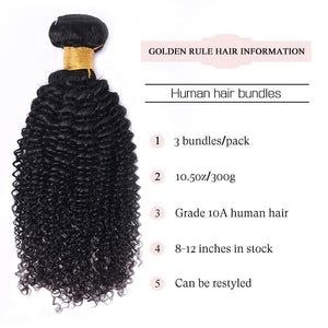 kinky curly bundles golden rule hair