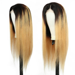straight closure wig golden rule hair