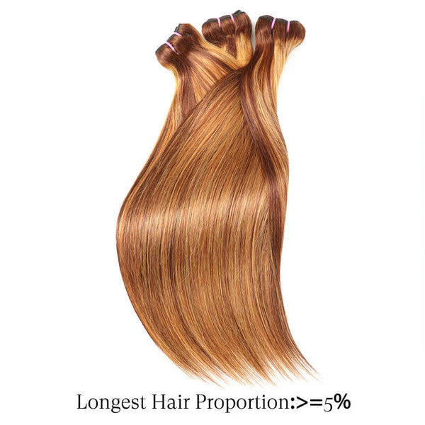 straight hair bundles mix clolor golden rule hair