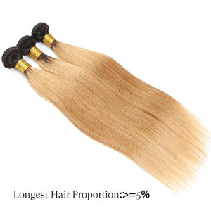 straight human hair bundles blond golden rule hair