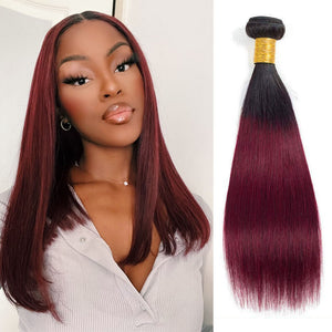 straight human hair bundles burgundy golden rule hair