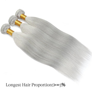 human hair bundles grey golden rule hair