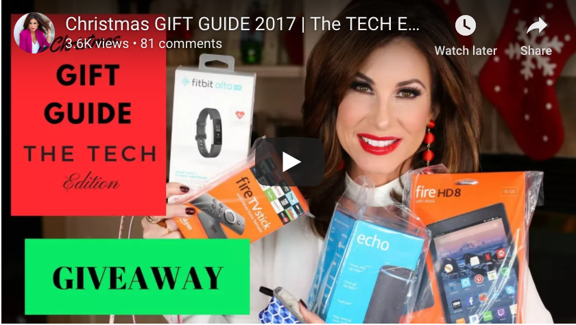 Tracy Hensel's Christmas Gift Guide | Tech Edition