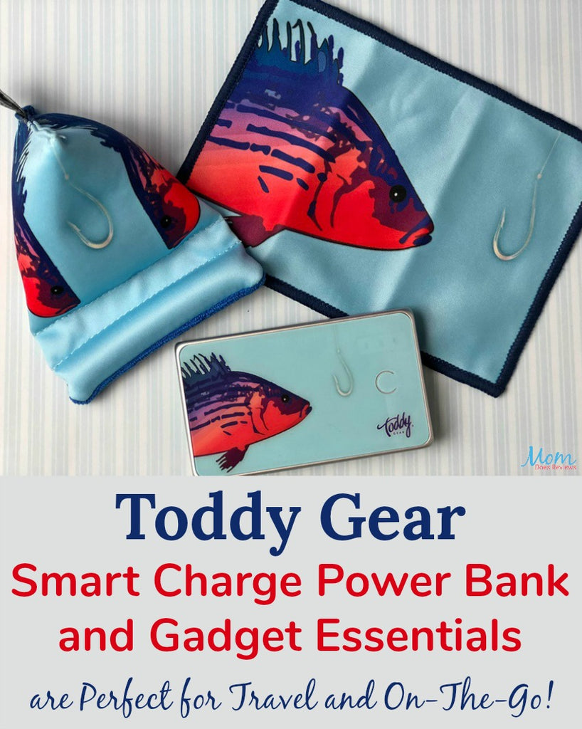 Mom Does Reviews: Toddy Gear Smart Charge Power Bank and Gadget Essentials are Perfect for Travel and On-The-Go!