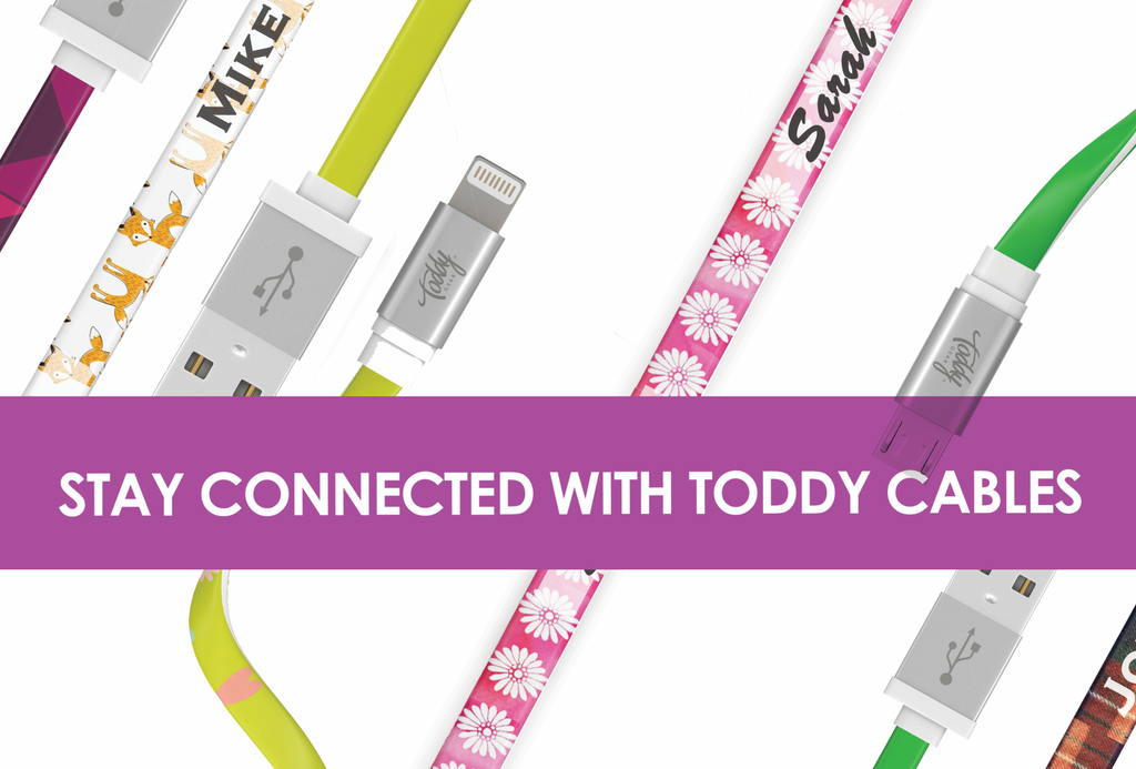 Say Goodbye to Personality-Free Charging with Toddy Charge & Sync Cables
