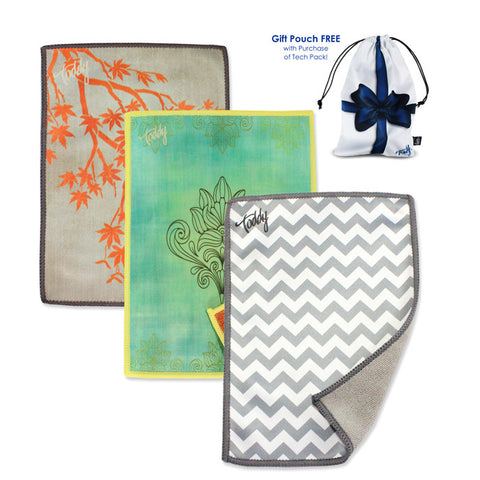 Smart Cloth Bundle: Namaste, Mandarin, Silver Chevron