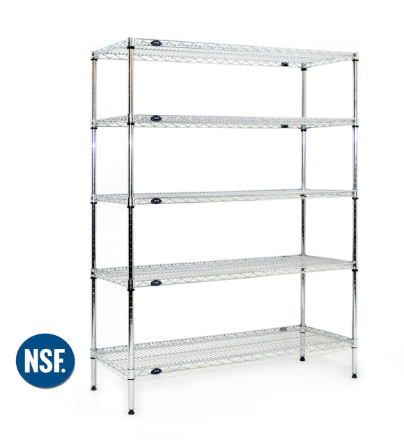 Stainless Steel Laboratory Storage Rack