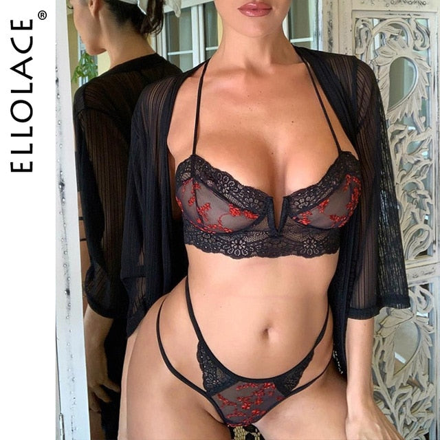 Mesh Underwear 2 pc Lingerie Sets
