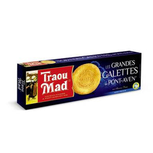 Breton Galettes (French Butter Cookies) - Traou Mad