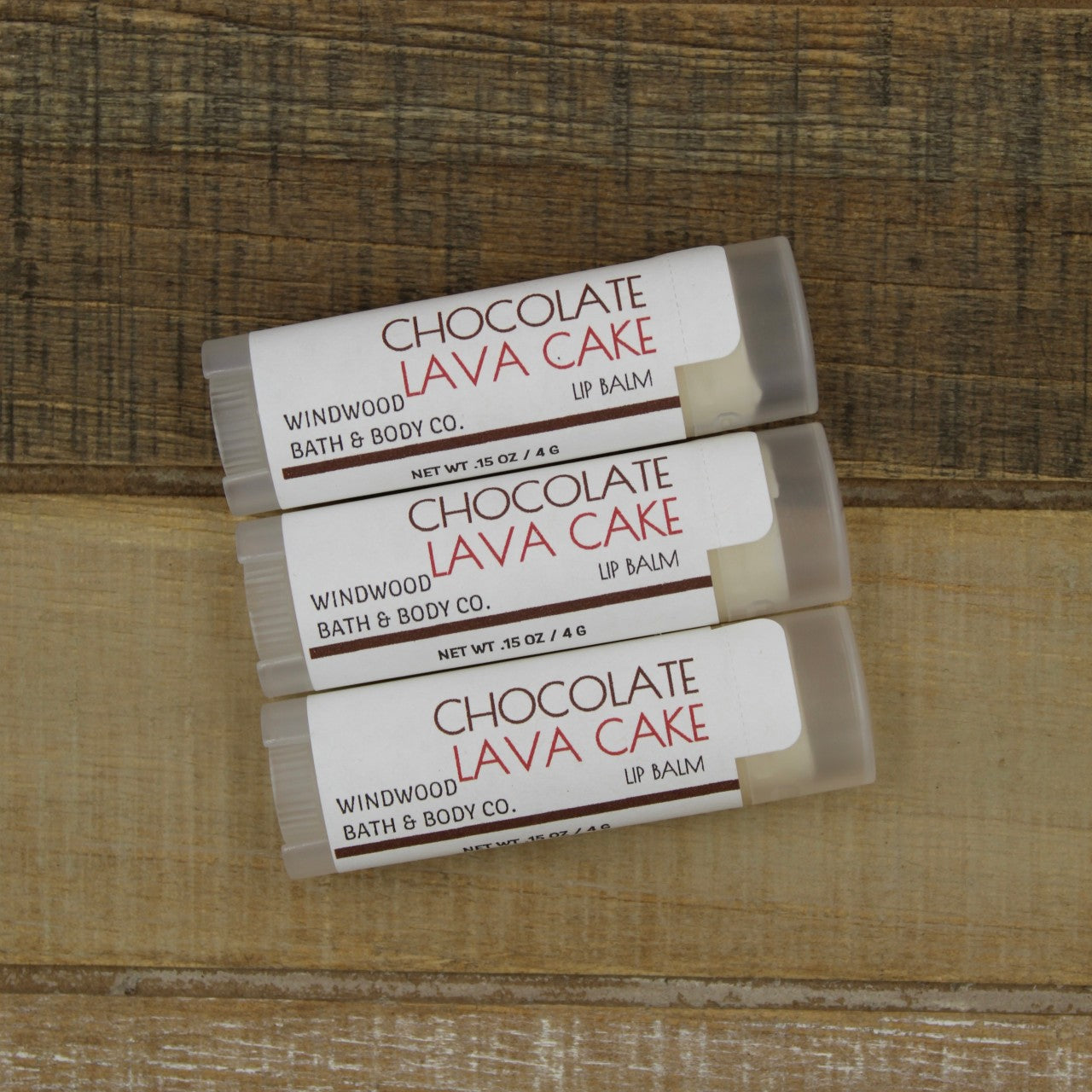 Chocolate Lava Cake Lip Balm