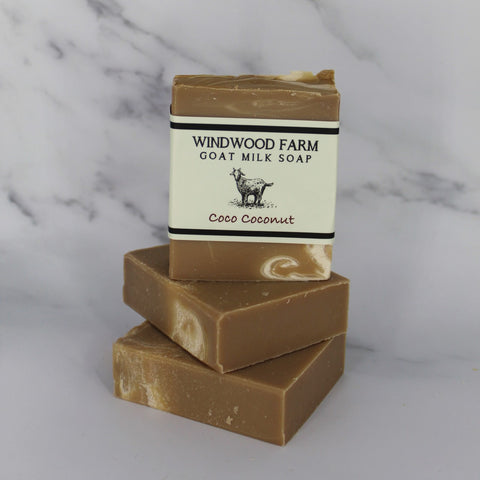 Coco Coconut Goat Milk Soap