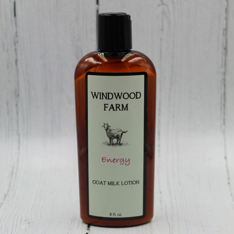 Energy Goat Milk Lotion