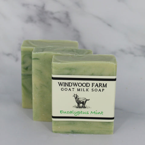 Eucalyptus Mint Goat Milk Soap