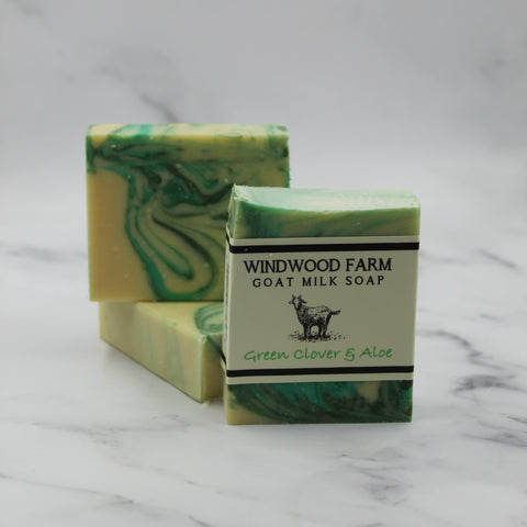 Green Clover & Aloe Goat Milk Soap