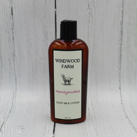 Honeysuckle Goat Milk Lotion