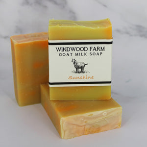 Sunshine Goat Milk Soap