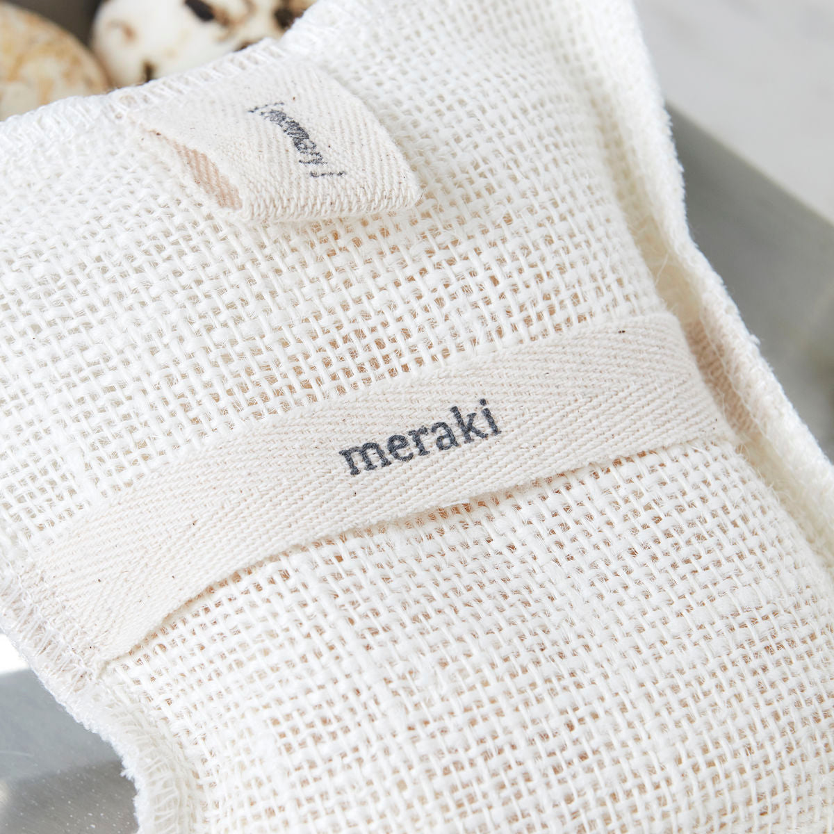 MERAKI ROSEMARY BATH MITT