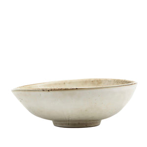 'LAKE' SPECKLED GREY BOWL