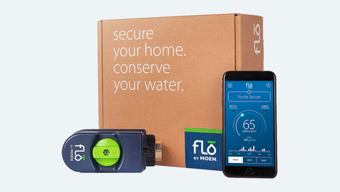 Flo by Moen Smart Water Security System