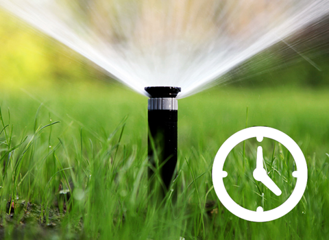 For Irrigation That is Time-Scheduled or Timer-Based