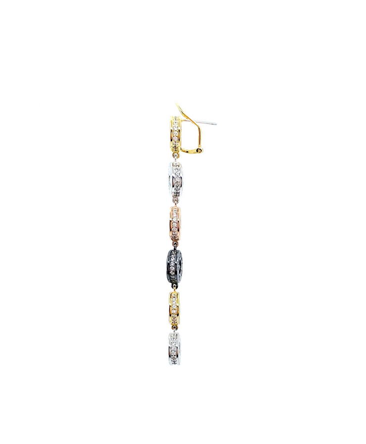 Susana Frost Multi Cap Earrings