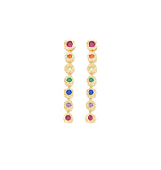 Bonita Rainbow Cap Earrings