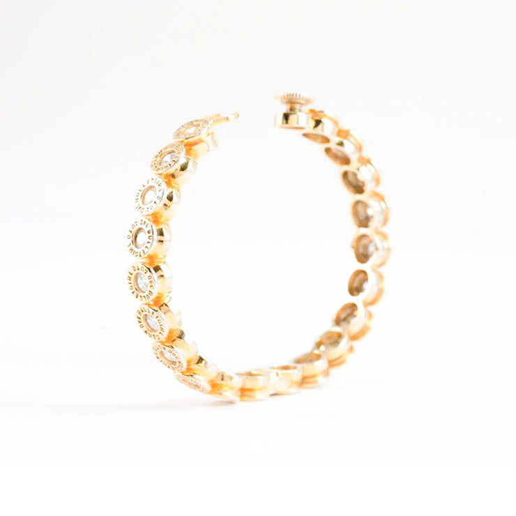 Bonita CZ Cap Bangle