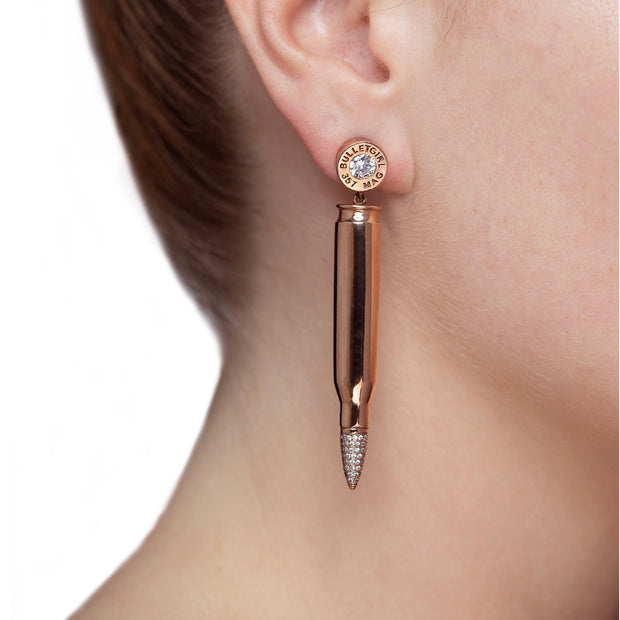 Honey Ryder Pavé Tip Earrings