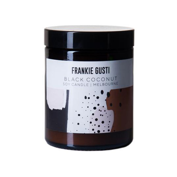 Candle - Frankie Gusti Black Coconut
