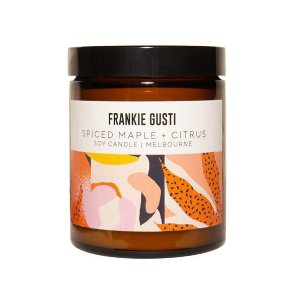 Candle - Frankie Gusti Spiced Maple Citrus