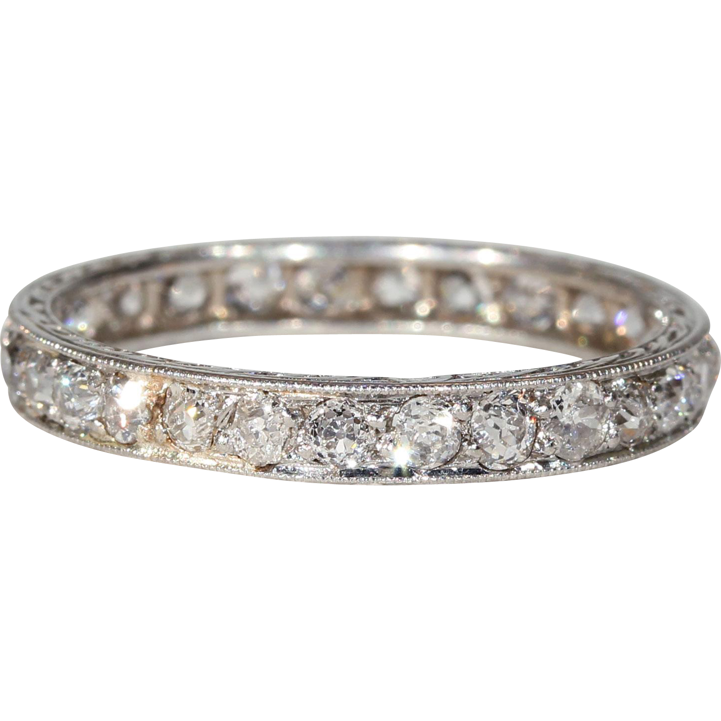 crossover band henri daussi eternity diamond bands