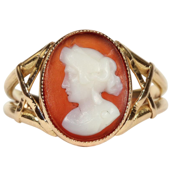 Antique victorian hard stone cameo ring in 18k gold victoria antique victorian hard stone cameo ring in 18k gold aloadofball Choice Image