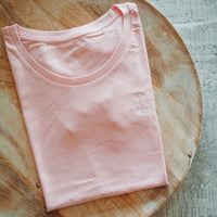Damen-Shirt ≋ MEHR MEER | cotton pink