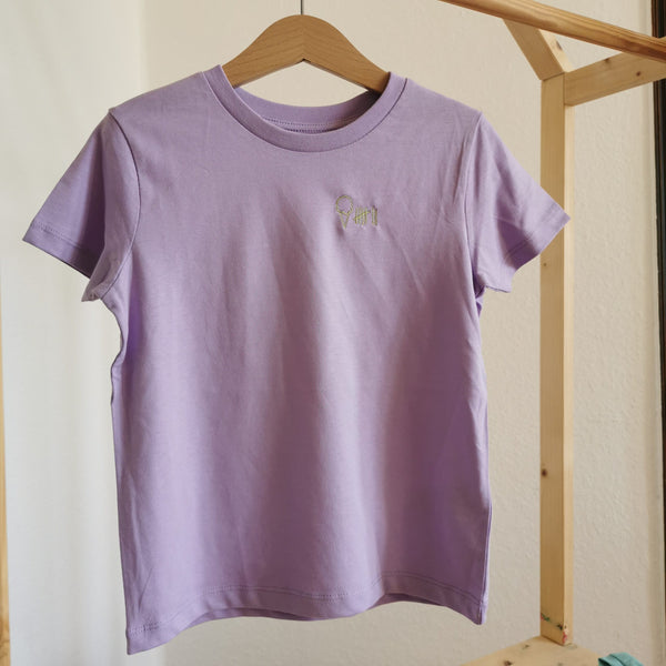 Kinder-Shirt EIS | lavender dawn