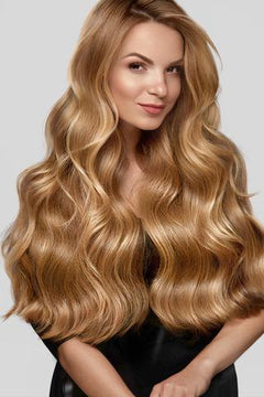 Double Drawn Seamless Clip-In Hair Extensions