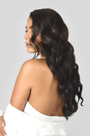 Double Wefted Full Head Clip In Hair Extensions
