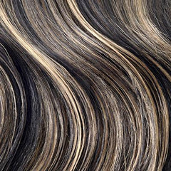 Natural Black / Bleach Blonde Mix Hair Extensions (#1B/613)