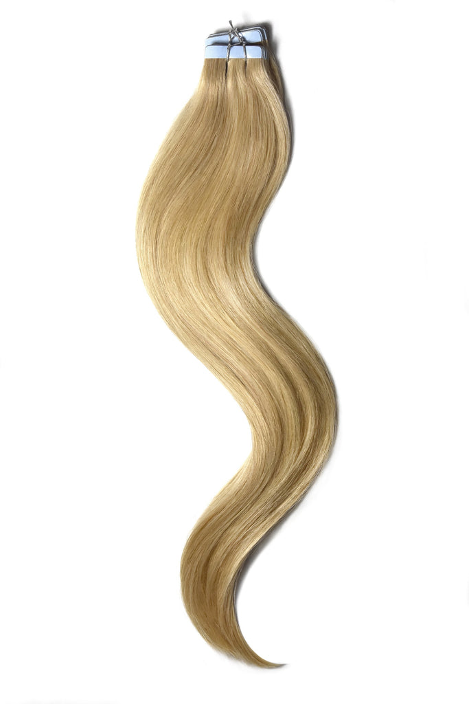tape in hair extensions golden blonde 16