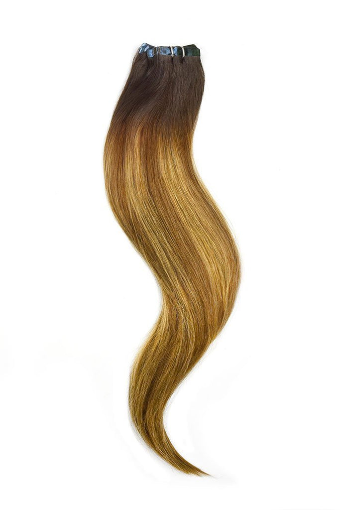 Brown Tape In Balayage Extensions