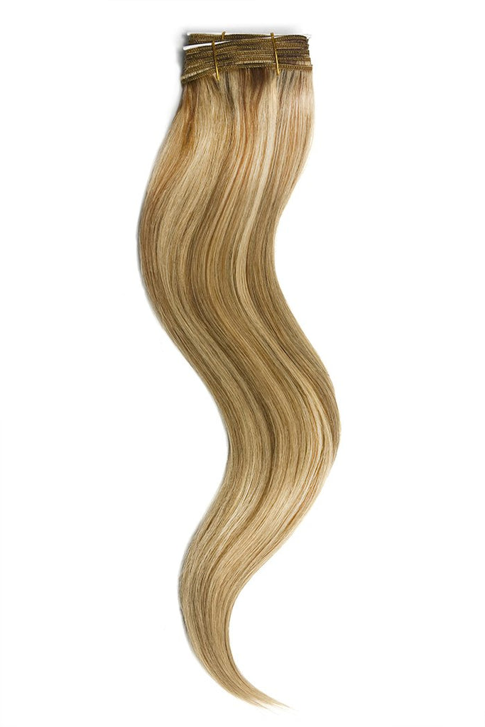 Medium Golden BrownGolden Blonde Mix Hair Extensions
