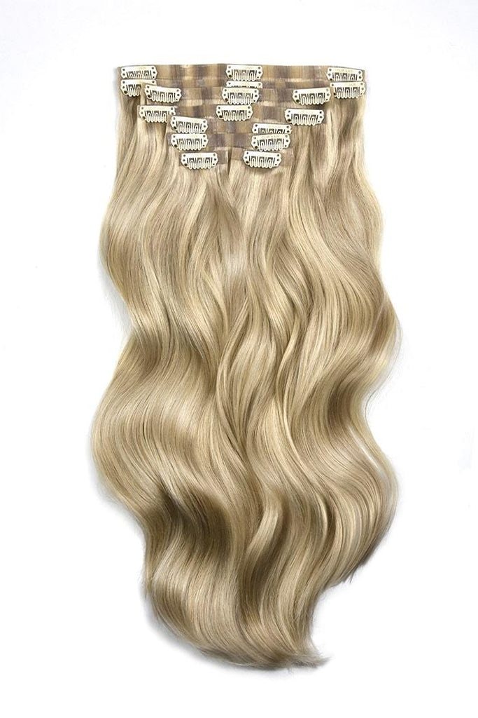 Seamless Clip-In Hair Extensions Double Drawn Hair Extensions