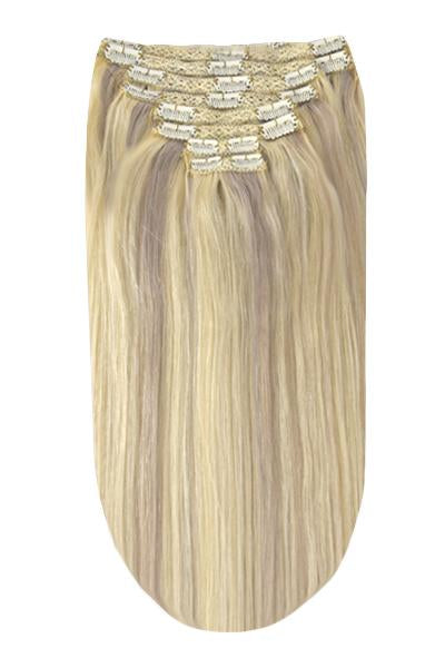 Full Head Remy Clip in Human Hair Extensions - BlondeMe (#60/SS)