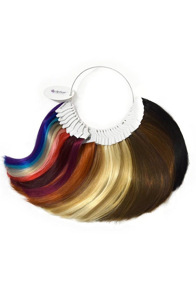hair extensions colour ring color wheel