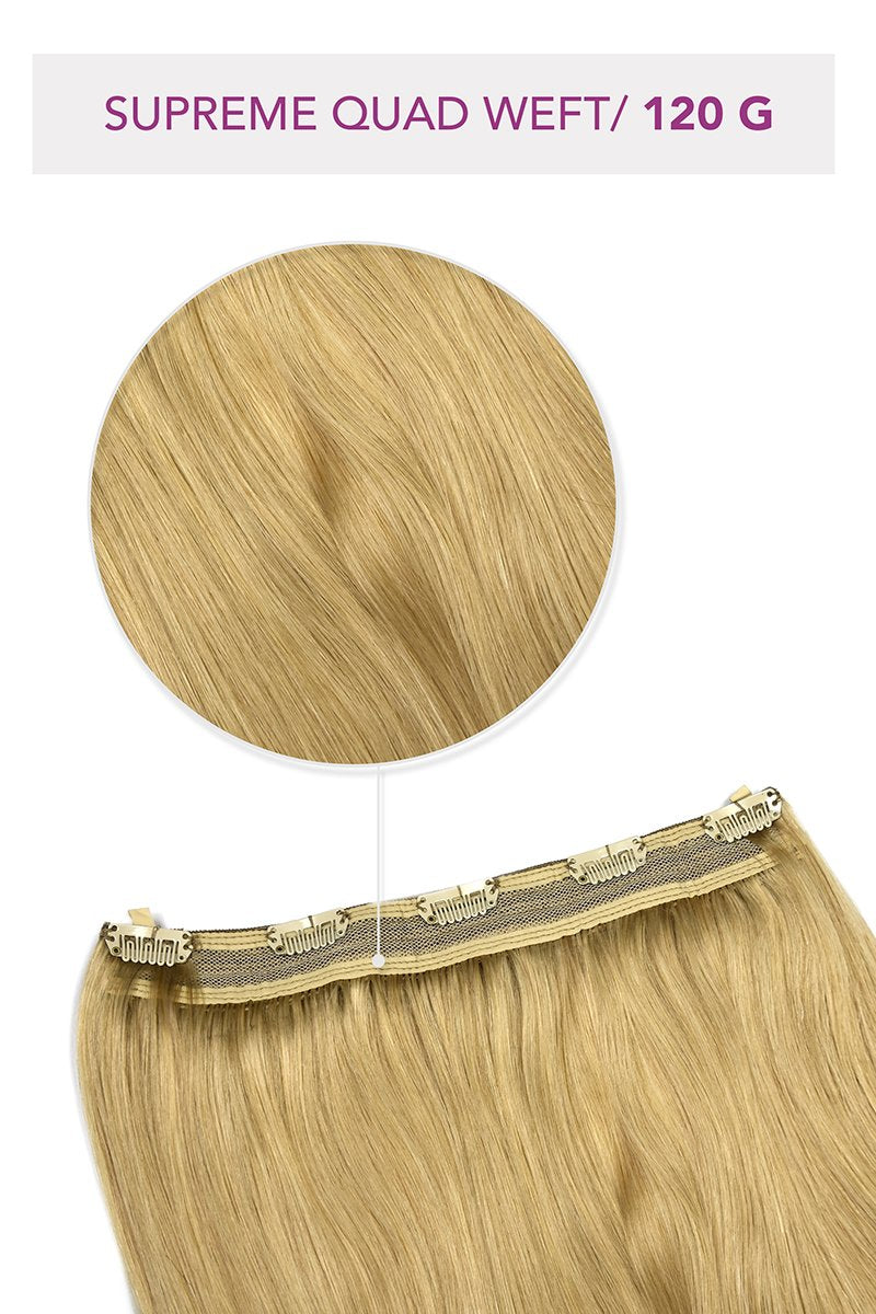 Supreme Quad Weft One-piece Clip Ins (120G)