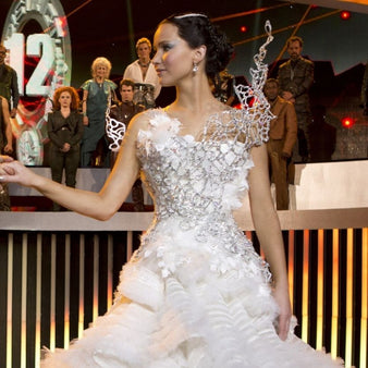 Jennifer Lawrence In The Hunger Games: Catching Fire, 2013