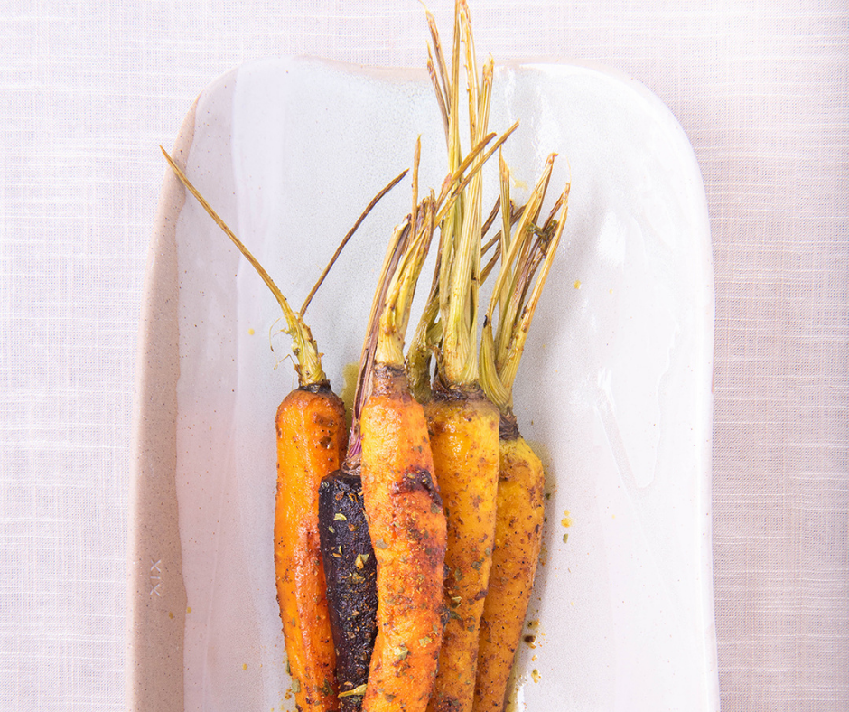 Roasted Moroccan Carrots