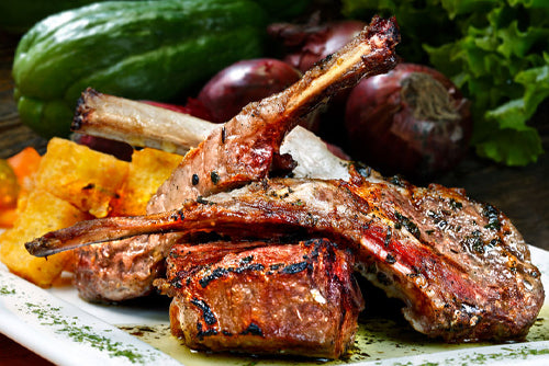 Grilled Moroccan Spiced Lamb Chops