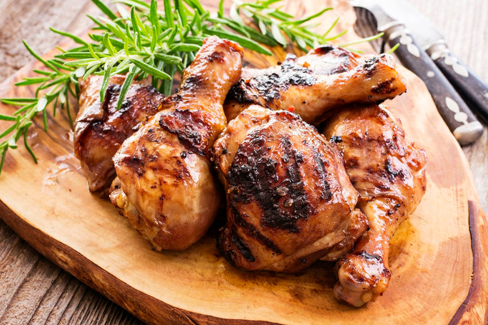 Rosemary Sweet & Smokey Grilled Chicken