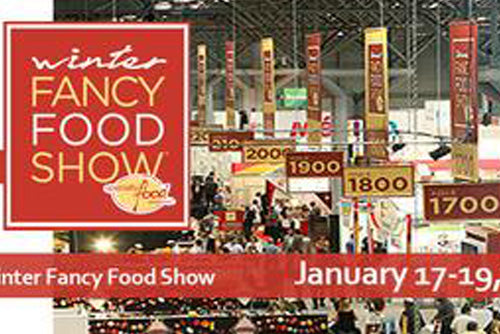Join us at the Winter Fancy Food Show in San Fransisco Jan 17th - 19th