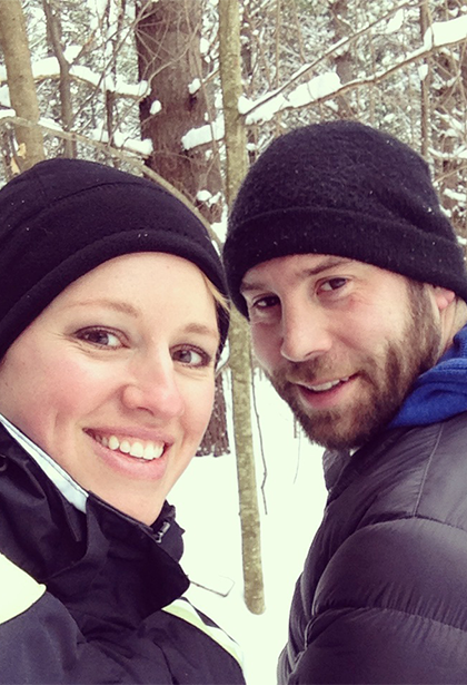 February feature: Christine and Jason